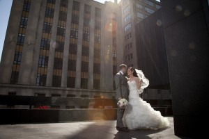 CEP studio Weddings in Montreal. Couple portrait of bride and groom