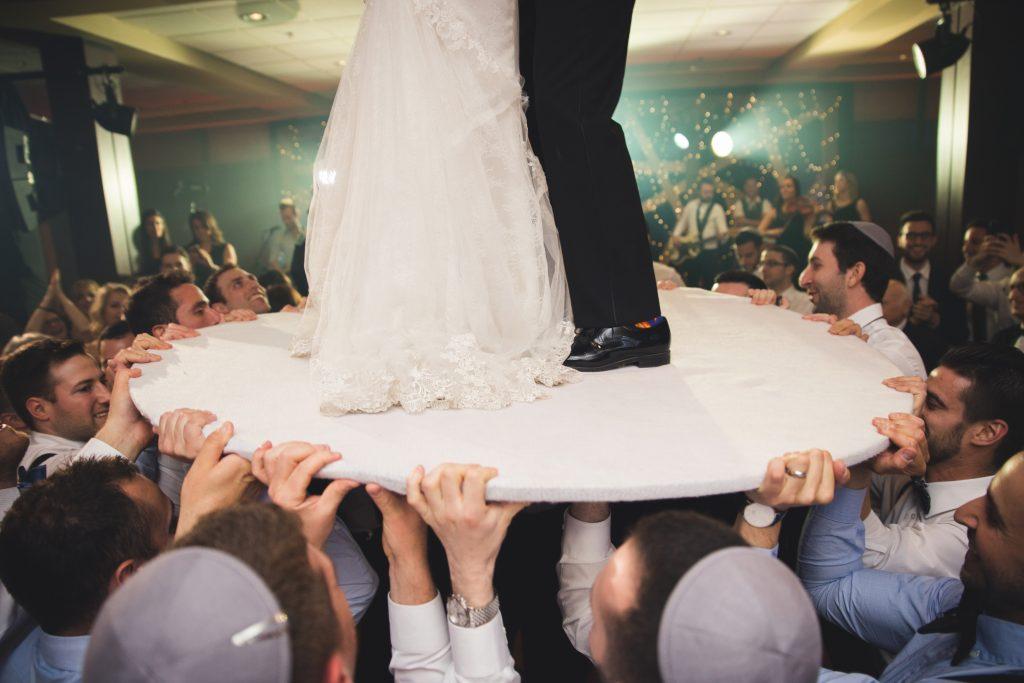 Horrah bride and groom