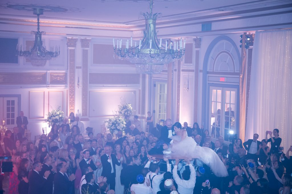 Montreal wedding photographer: cep studio at le windsor photograph of couple and their guests at wedding reception