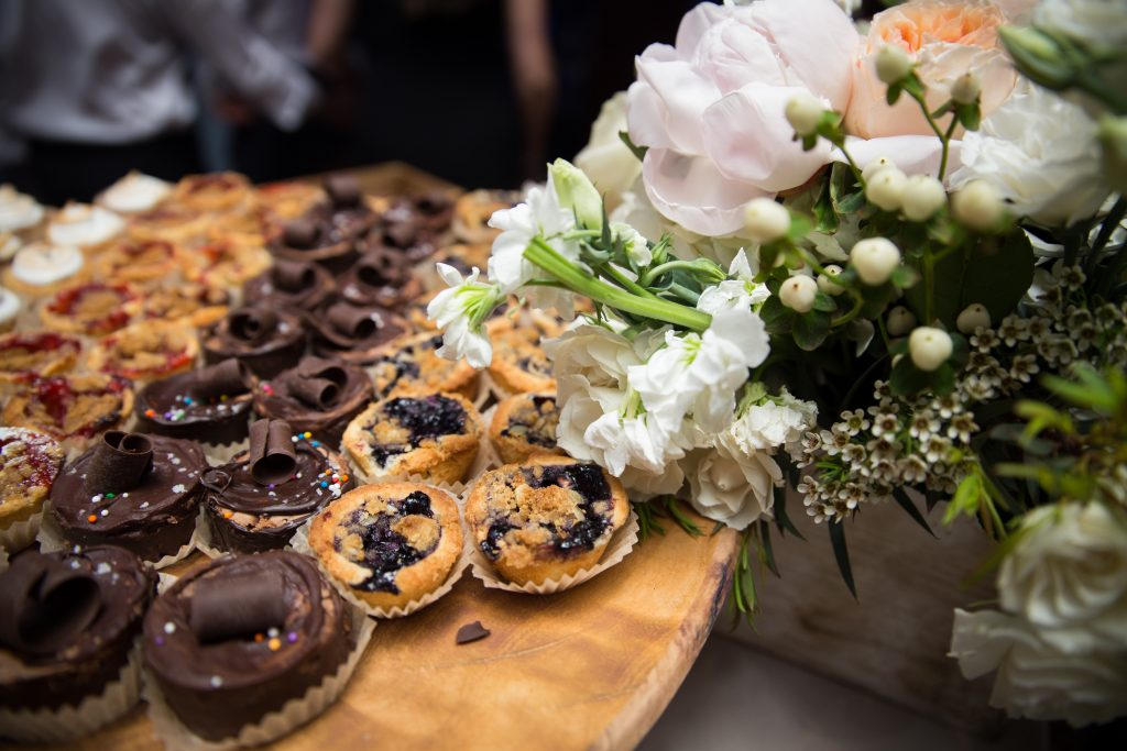 Java U sweet table for a Montreal wedding